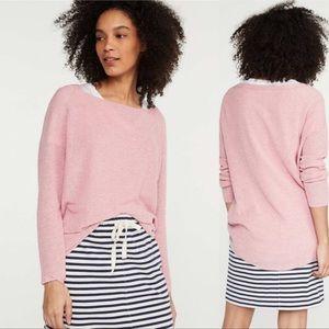 NWT Lou & Grey Pink Lightweight Sweater Tunic